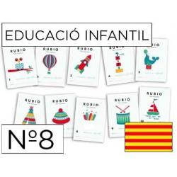 Cuaderno rubio educacion infantil nº8 catalan