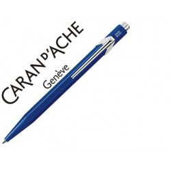 Boligrafo caran d'ache 849 zafiro azul punta media