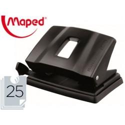Taladrador maped essentials metal capacidad 25 hojas
