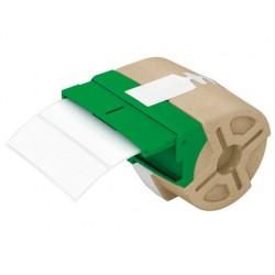 Etiqueta adhesiva leitz troquelada tamaño 88x28 mm para rotuladora 70010000 690 etiquetas
