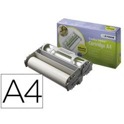 Repuesto plastificadora xyron easy din a4 film adhesivo removible bobina 10 m