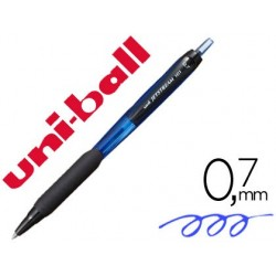 Boligrafo uni-ball jetstream retractil sxn-101 0,7 mm azul