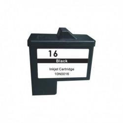10N0016E LEXMARK Cartucho Tinta Negro Remanufacturado