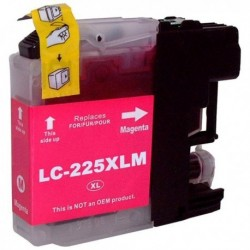 LC225XLCM Brother Cartucho de Tinta Magenta Compatible