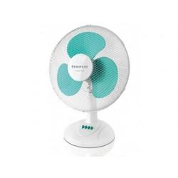 Ventilador de sobremesa taurus 3 velocidades oscilante reclinable con rejilla protectora 50w