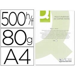 Papel fotocopiadora q-connect din a4 80 gramos  500 hojas.