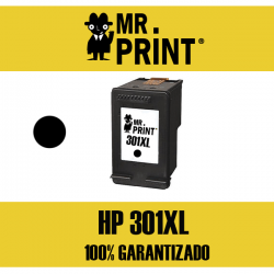 301XL V3 Cartucho compatible para HP Negro