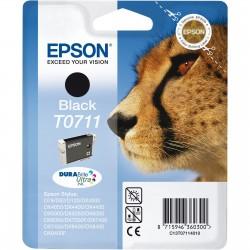 T0711 EPSON Cartucho Tinta Negra Orginal C13T07114011