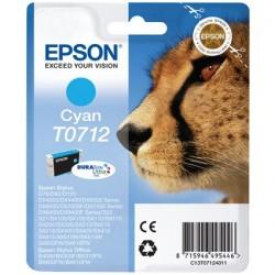 T0712 EPSON Cartucho Tinta Cyan Original C13T07114011