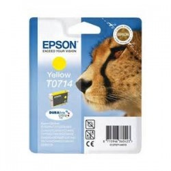 T0714  EPSON Cartucho Tinta Yellow Original C13T07144011