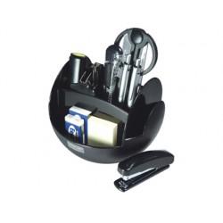 Organizador sobremesa s-350 negro con accesorios