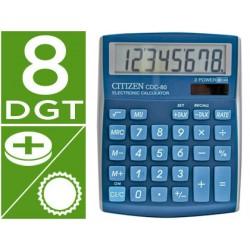 Calculadora citizen sobremesa cdc-80 8 digitos celeste serie wow