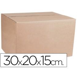 Caja para embalar q-connect medidas 300x200x150 mm espesor carton 4,9 mm