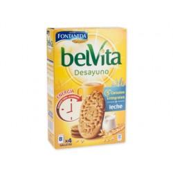 Galleta fontaneda belvita cinco cereales con leche paquete de 400 g