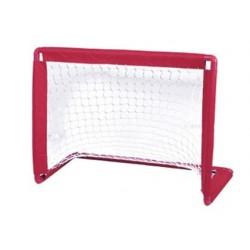 Porteria amaya de hockey con red en pp rigido reforzada con abs 100x65x45 cm