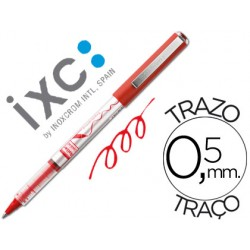 Rotulador roller inoxcrom free ink office campus rojo 0,5mm