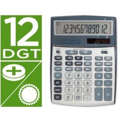 Calculadora citizen sobremesa ccc-112 s 12 digitos 202x155x33 mm
