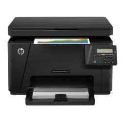 Equipo multifuncion hp laserjet mfp m176n 16pmm negro 4pmm color copiadora escaner impresora laser color