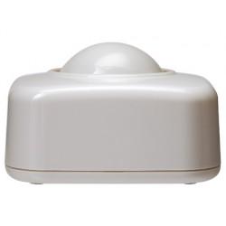 Portaclips q-connect con bola dispensadora giratoria plastico blanco