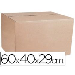 Caja para embalar q-connect medidas 600x400x290 mm espesor carton 4,9 mm