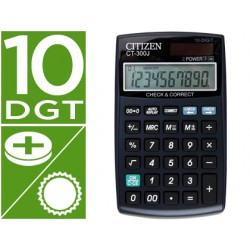 Calculadora citizen bolsillo ct-300j 10 digitos