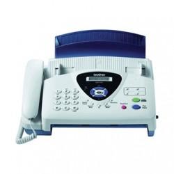 Fax brother t104 transferencia termica de papel normal con telefono incorporado -alimentador automatico