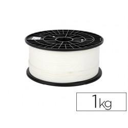 Filamento 3d colido premium pla 1,75 mm 1 kg blanco