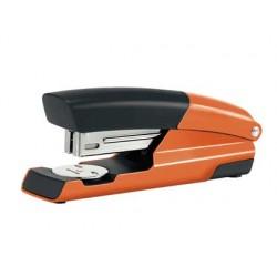 Grapadora petrus mod 635 wow naranja metalizada capacidad 30 hojas