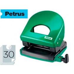 Taladrador petrus 62 wow verde metalizado capacidad 30 hojas