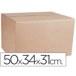 Caja para embalar q-connect medidas 500x340x310 mm espesor carton 4,9 mm