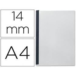 Tapa de encuadernacion channel flexible 35556 negra lomo c capacidad 106/140 cajas