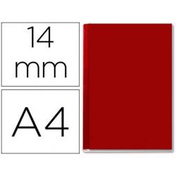 Tapa de encuadernacion channel rigida 35579 burdeos lomo c capacidad 106/140 hojas