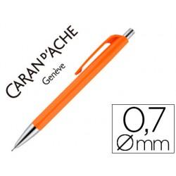 Portaminas caran d'ache 884 infinite 0,7 mm naranja