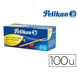 Lapices de grafito pelikan hexagonal hb caja de 100 unidades