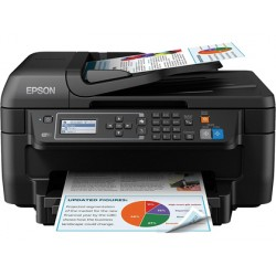 Equipo multifuncion epson workforce wf-2750dwf inyeccion de tinta color 33 ppm bandeja de entrada 150