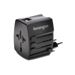 Adaptador de corriente kensington internacional 2 x usb 2,4 amperios
