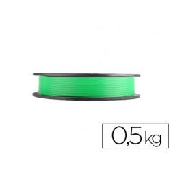 Filamento 3d colido gold pla 1,75 mm 0,5 kg verde