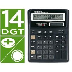 Calculadora citizen sobremesa sdc-414 14 digitos