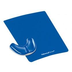 Reposamuñecas fellowes deslizante ergonomico gel azul