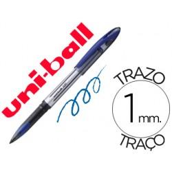Boligrafo uni-ball roller air ub-188-l 0,7 mm tinta liquida azul