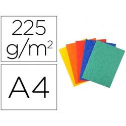 Subcarpeta cartulina lustrada exacompta din a4 paquete de 25 unidades colores surtidos 225 gr