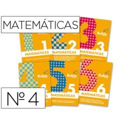 Cuaderno rubio matematicas evolucion nº 4