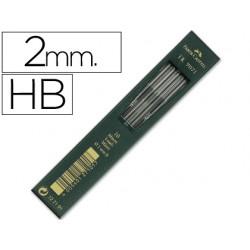 Minas faber grafito 9071 hb 2 mm -estuche de 10 minas