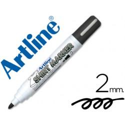 Rotulador artline camiseta ekt-2 negro -punta redonda 2 mm -para uso en camisetas