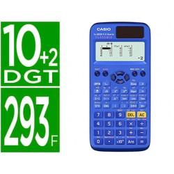 Calculadora casio fx-85spx ii iberia classwiz cientifica 293 funciones 8+1 memorias 10+2 digitos con tapa