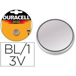 Pila duracell alcalina cr2032 blister 1 boton