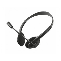Auriculares trust ziva headset estereo con microfono ajustables