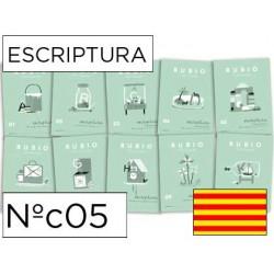 Cuaderno rubio escriptura nºc05 catalan
