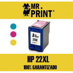 22XL HP Tricolor Remanufacturado C9352AE