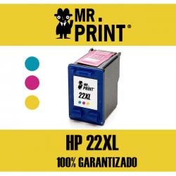 22XL HP Tricolor Remanufacturado C9352AE